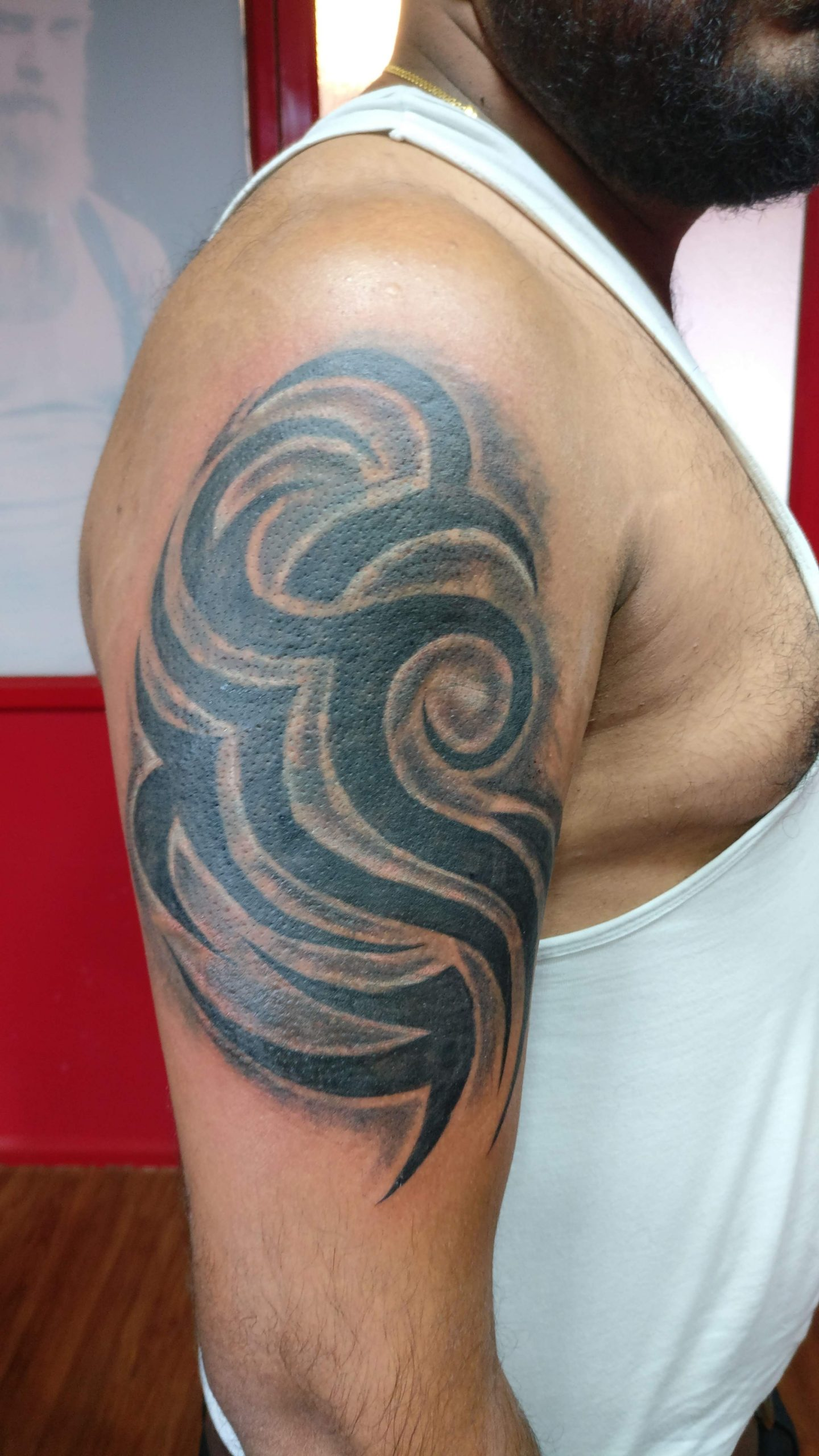 Shoulder Tattoo Designs | Tarazwa Tattoos & Body Piercing